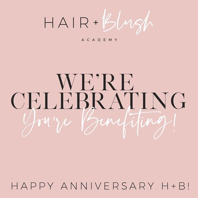 A few days left to get in on our incredible anniversary sale ! Don't miss out join now amd save BIG ! Xoxo yocheved & Cami  . . #hair #makeup #hairandblush #hairandblushacademy #hairacademy #makeupacademy