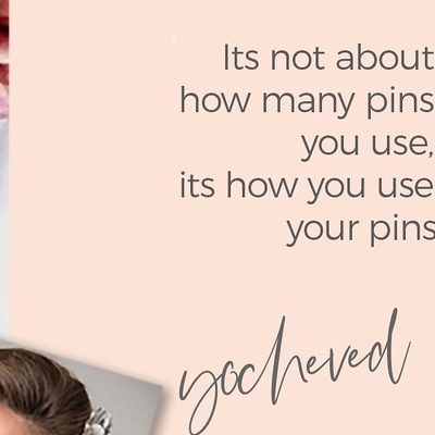 "One of the many things you will learn at hair and blush ""It's not about how many pins you use, it's how you use your pins""!! Yocheved gross 🌸🌱🌸 Xoxo Y&C . . @makeupmebycami  @yochevedgross  #hairandblush #hairandblushacademy #hairandblushonline #online #onlinehairschool #onlinemakeupschool #onlinecourses"