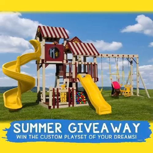 ☀ @summerdreamgiveaway ☀ WIN A CUSTOM PLAYSET!! THE PRIZE OF ALL MOMS AND KIDS DREAMS!!! Customize it to your own likings, and needs!!! Not only is this a prize for all the kids, but moms for YOU as well, this prize will keep the kids busy for hours, it's a win win!! AND it's super easy to enter!! You never know....YOU just may be the lucky winner!!! Entering takes 15 seconds! Just go to @summerdreamgiveaway , find the post there, and follow the 3 simple steps below it. THATS IT!! YES, It's that simple!!!! Good luck!!!!! DISCLAIMER: Per Instagram rules, this giveaway is no way sponsored, administered, or associated with Instagram. No purchase necessary, void where prohibited. By entering, entrants confirm they are 18+ years of age, release Instagram of responsibility, and agree to Instagram's term of use. Winner receives the teddys paradise custom playset, with a bonus accessory of choice. Good luck!